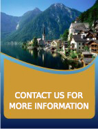 contact us for tailor made itineraries